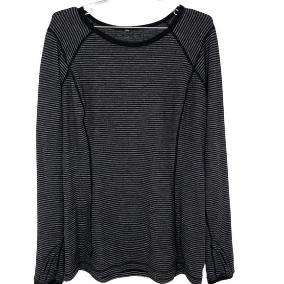 Lululemon Run Top Turn Around Long Sleeve Shirt 12